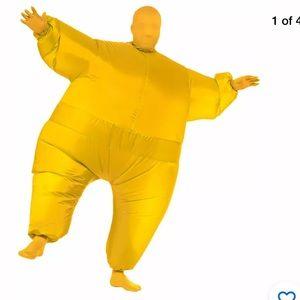 Adult Yellow Inflatable  Costume